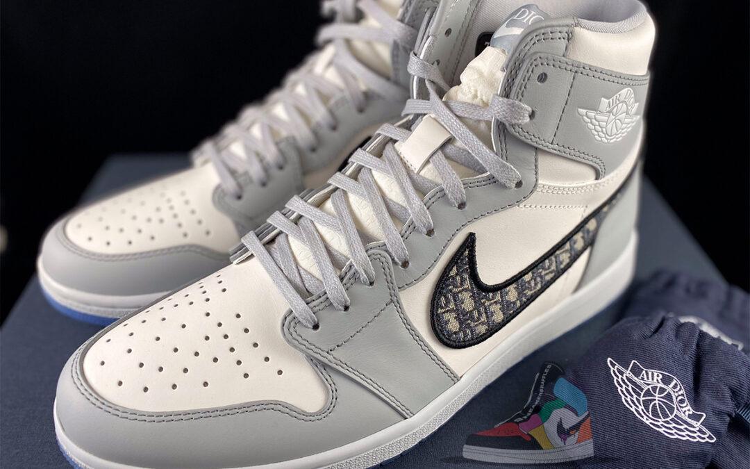 Air Dior Jordan 1 The Making Of…
